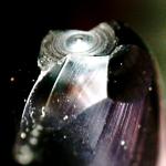 金型加工コンサルティングにおける先端が異常磨耗した小径ボールエンドミル_1
