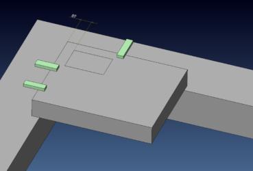 ワイヤーカットを行うプレートにおける端面からインロー形状までの適正な距離について