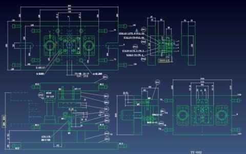 2次元設計の組図の事例