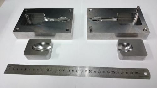 図1 同社の加工した鋳造用金型