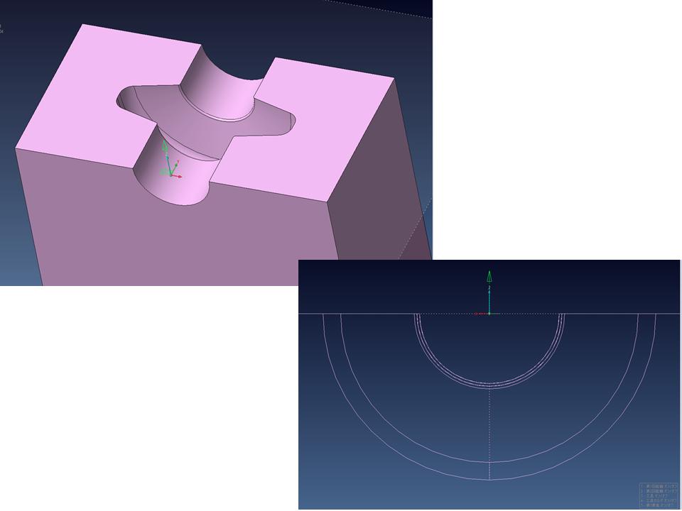事例のモデル形状
